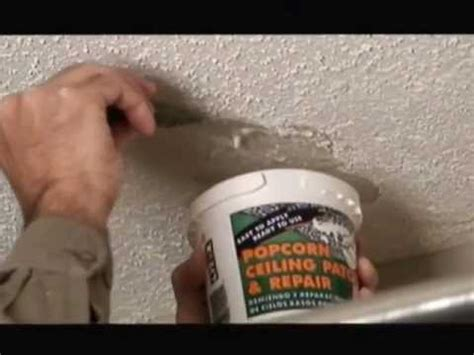 How To Fix In Ceiling by Popcorn Ceiling Patch Repair