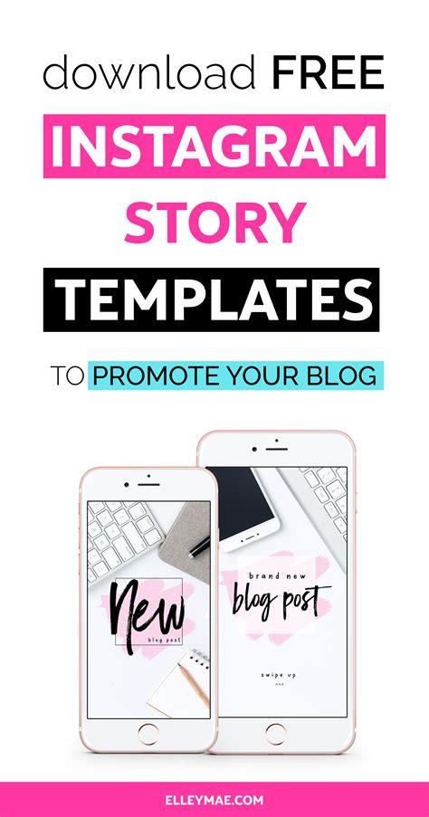 8 Creative Ways To Grow Your Blog With Instagram Stories Elley Mae Free Instagram Story Templates
