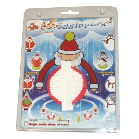 24 x magic santa snowman tree s christmas craft kits