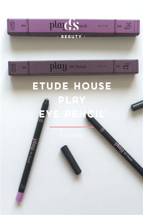 Eyeliner Pencil Etude korean skincare products what goes where the infamous