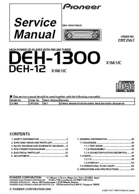 pioneer deh p2000 wiring diagram pioneer radio wiring