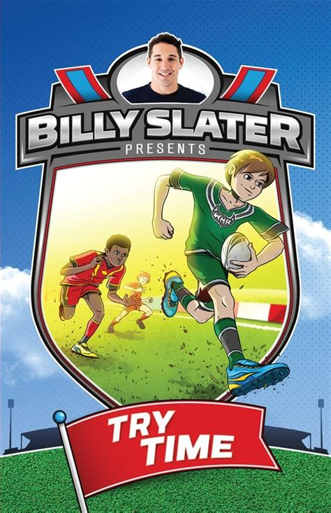 billy slater autobiography books booktopia try time billy slater book 1 by