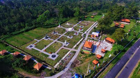Drone Yogyakarta world landmark merapi park jogja aerial 9