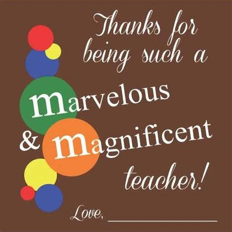 Magnificent And Marvelous Printable