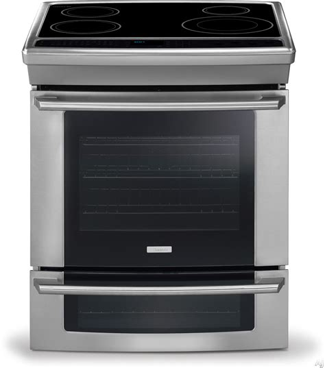 Convection Cooktop Electrolux Ew30is65js 30 Quot Slide In Induction Range With 4