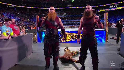 wwe fastlane  les bludgeon brothers ruinent le match