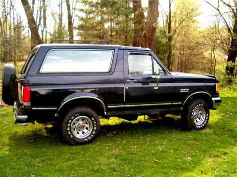 how cars run 1988 ford bronco transmission control buy used 1988 ford bronco xlt with only 96 500 miles in urbandale iowa united states for us