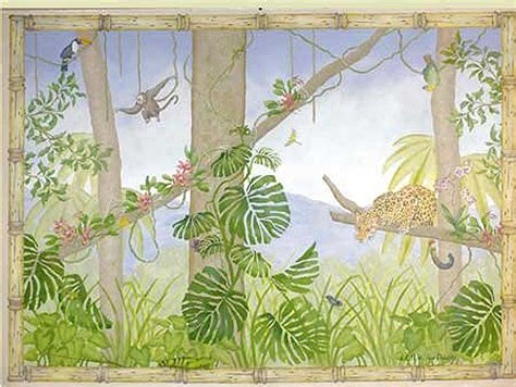 mural templates rainforest mural stencils wall to wall stencils products