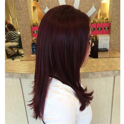 merlot hair color violet hair color auburn merlot hair ig