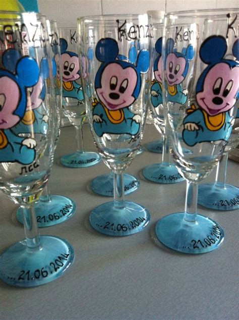 Decoration Bapteme Mickey by Th 232 Me Mickey B 233 B 233 Cadeau Pour Bapteme Parrain Marraine