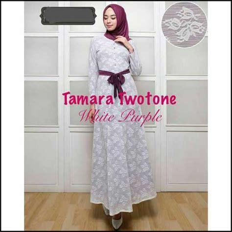 Baju Muslim Dewasa Ukuran Kecil Jual Baju Gamis Pesta Ukuran Kecil Tamara Two Tone Bahan