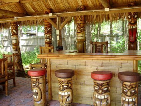 tiki bar top large outdoor tiki bar make a cheap outdoor tiki bar