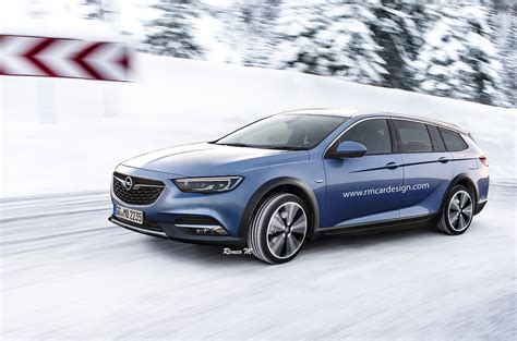 2018 opel insignia country tourer rendered autoevolution