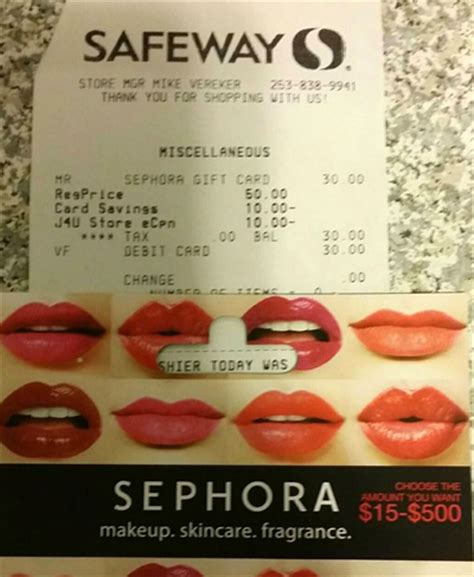 Can You Use Jcpenney Gift Cards At Sephora - updated safeway 50 jcpenney card for 30 after e coupon and instant promo