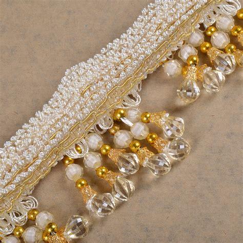 beaded trim for drapes tassel beaded fringe curtain trims drapery ribbon decor