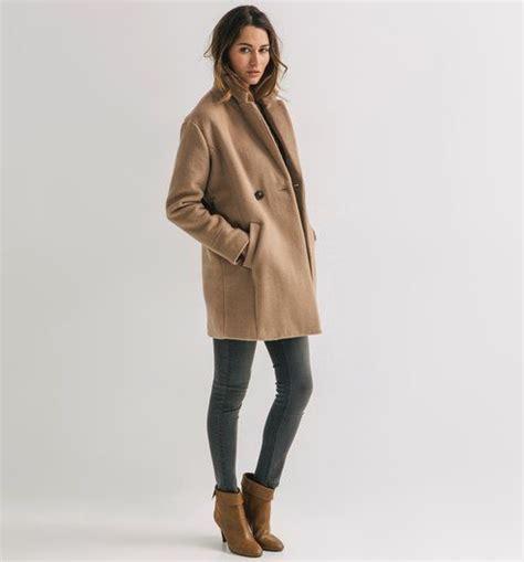 comptoir contonnier manteau bouclettes femme camel promod mode