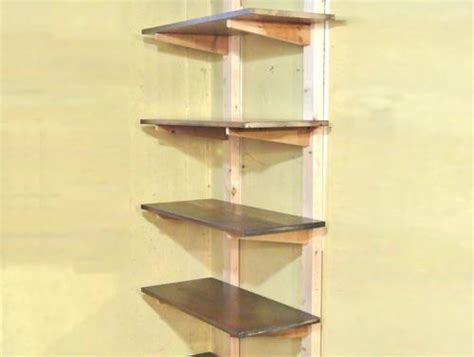 shelves with mortise and tenon joints