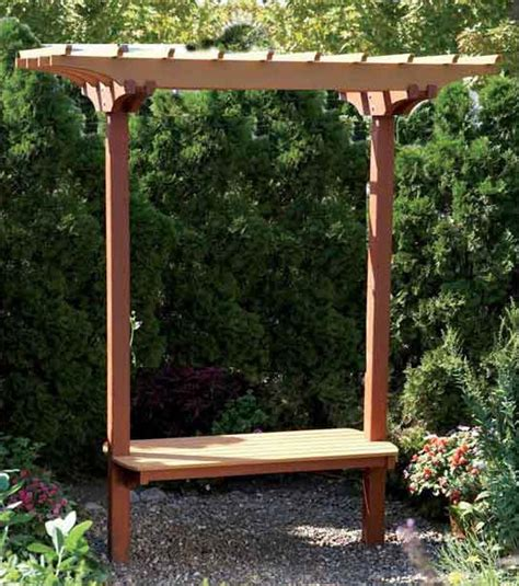 bench with trellis garden bench trellis woodworking plan outdoor outdoor