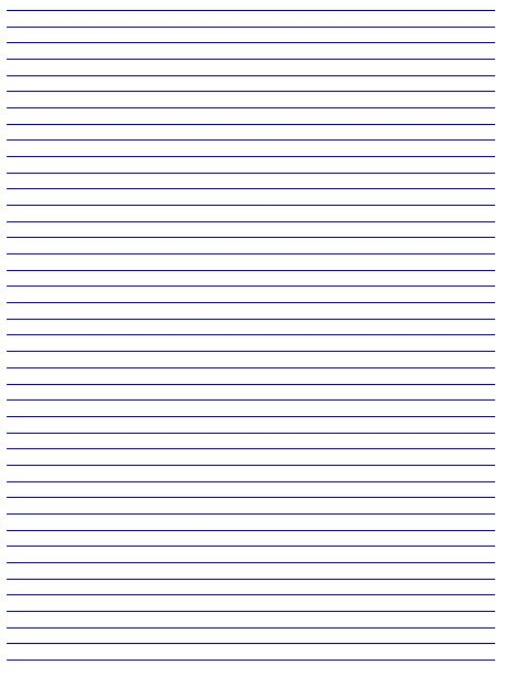 Printable Lined Paper Free | 9 best images of printable lined paper with borders free