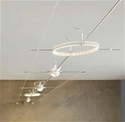 seilsysteme beleuchtung led seilsystem schwebendes licht wohnen news f 252 r