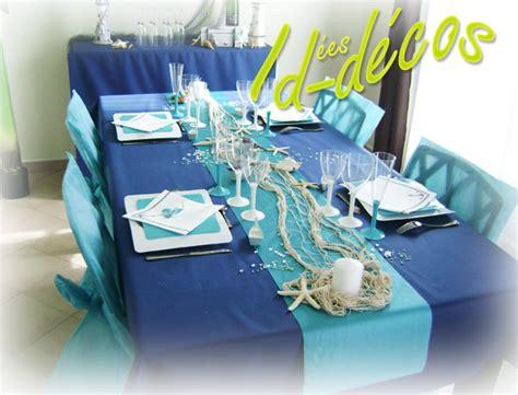 Decoration De Table Bleu Turquoise by Id 233 Es De Decoration Table En Bleu Marine Et Bleu Turquoise
