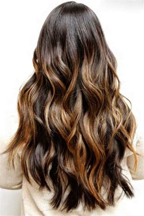 brown hair color with highlights ideas how to dye blonde and 40 brunette long hairstyles ideas long hairstyles 2016