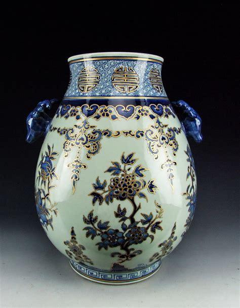 antique porcelain l with roses antique gilt famille porcelain vase flower
