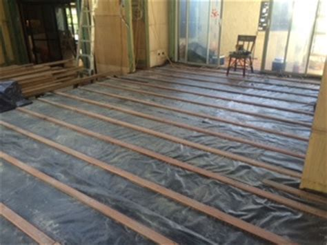 Timber Floor Installation at Fig Tree Pocket   article of