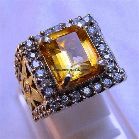 Batu Permata Citrine batu permata sparkling citrine cincinpermata