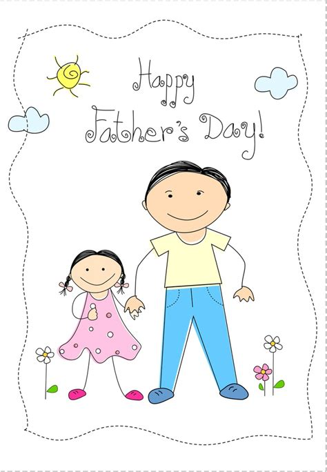 printable greeting cards for daughter free printable from daughter greeting card fathersday