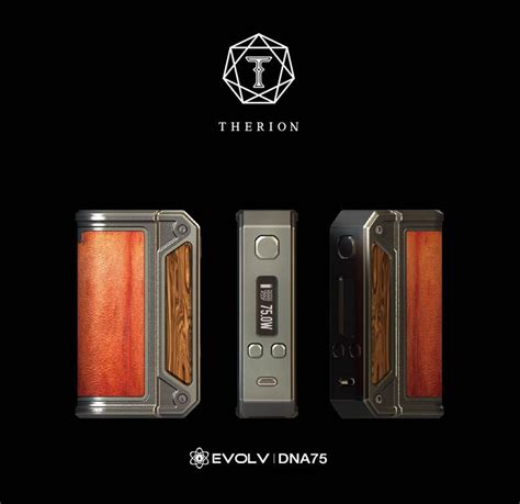 the lost vape therion dna75 tc box mod
