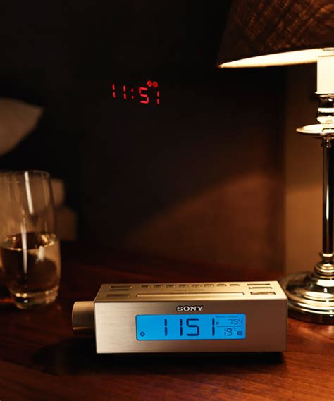 Alarm Clock Reflects On Ceiling home clock magazine