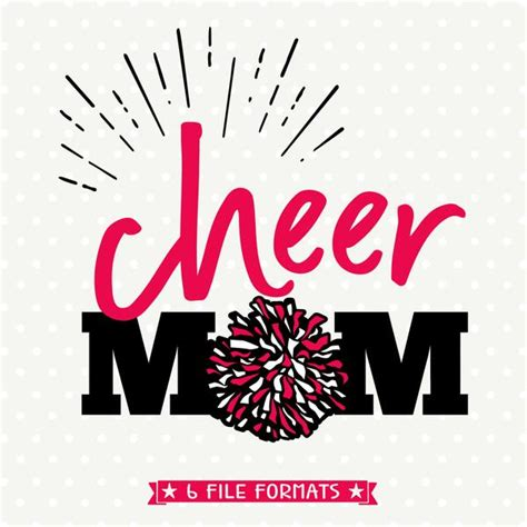 cheer mom svg file cheer mom iron  file cheerleading svg queen svg bee