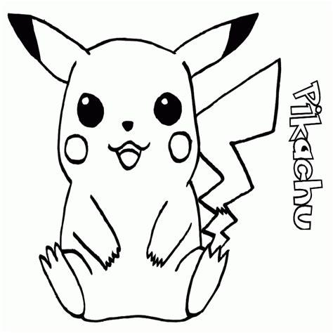 dibujos pikachu para dibujar imprimir colorear y dibujos de pikachu para colorear e imprimir