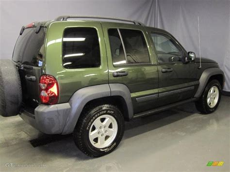 green jeep liberty 2006 jeep green metallic jeep liberty sport 4x4 26355722