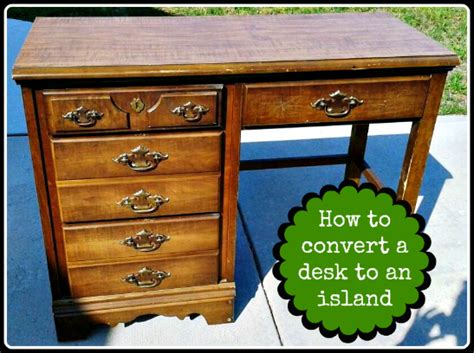 How To Make A Desk Out Of Kitchen Cabinets Upcycled