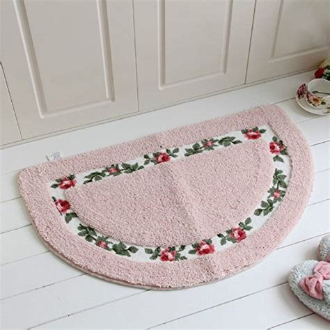 Beautiful Bathroom Rugs Sytian 174 Decorative Beautiful Floral Rural Style Flower Design Shaggy Area Rug Doormat Floor