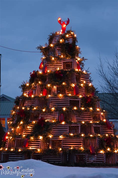 lobster trap christmas tree christmas pinterest