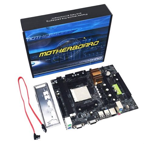 n68 c61 desktop computer motherboard support for am2 for