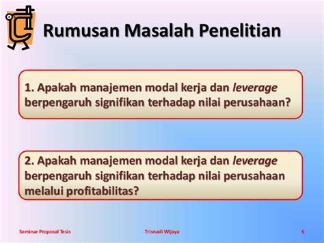cara membuat power point untuk seminar proposal contoh slide presentasi proposal penelitian yang bagus