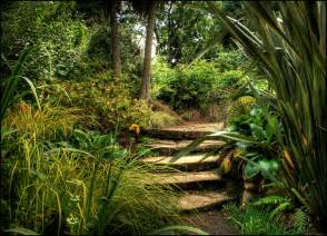 Garden In Dewstow Gardens And Grottoes