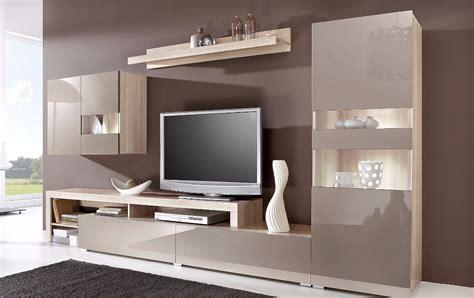 wohnwand mit verstecktem fernseher tv 220 nitesi şeker mobilya