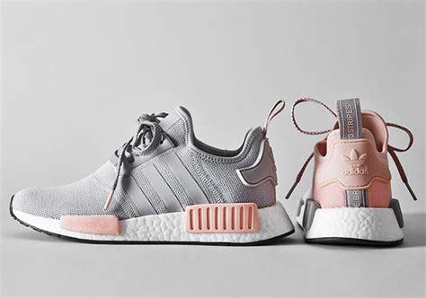 adidas nmd  grey pink   sneakernewscom