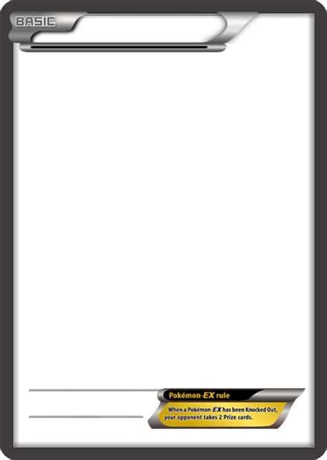 blank card template transparent bw ex no text card blank template by the ketchi on