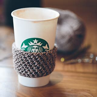 starbucks pattern library ravelry coffee shop cozy pattern by the firefly hook