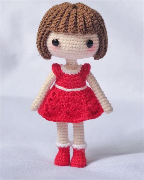pattern for yarn doll preciosa mu 241 eca de ganchillo pinteres