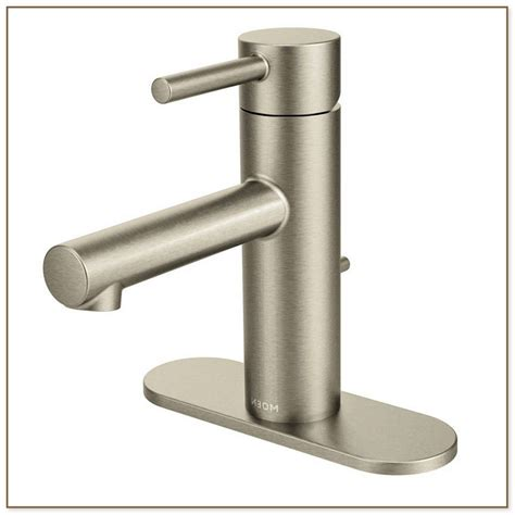 moen brushed nickel kitchen faucet