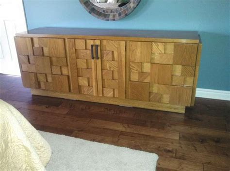lane brutalist bedroom set paul evans inspired brutalist mosiac bedroom dresser set