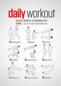 daily workout plan for at home best 25 easy daily workouts ideas on pinterest weekly workout routines quick daily workouts