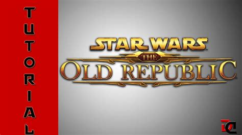 tutorial old republic star wars the old republic tutorial para iniciantes